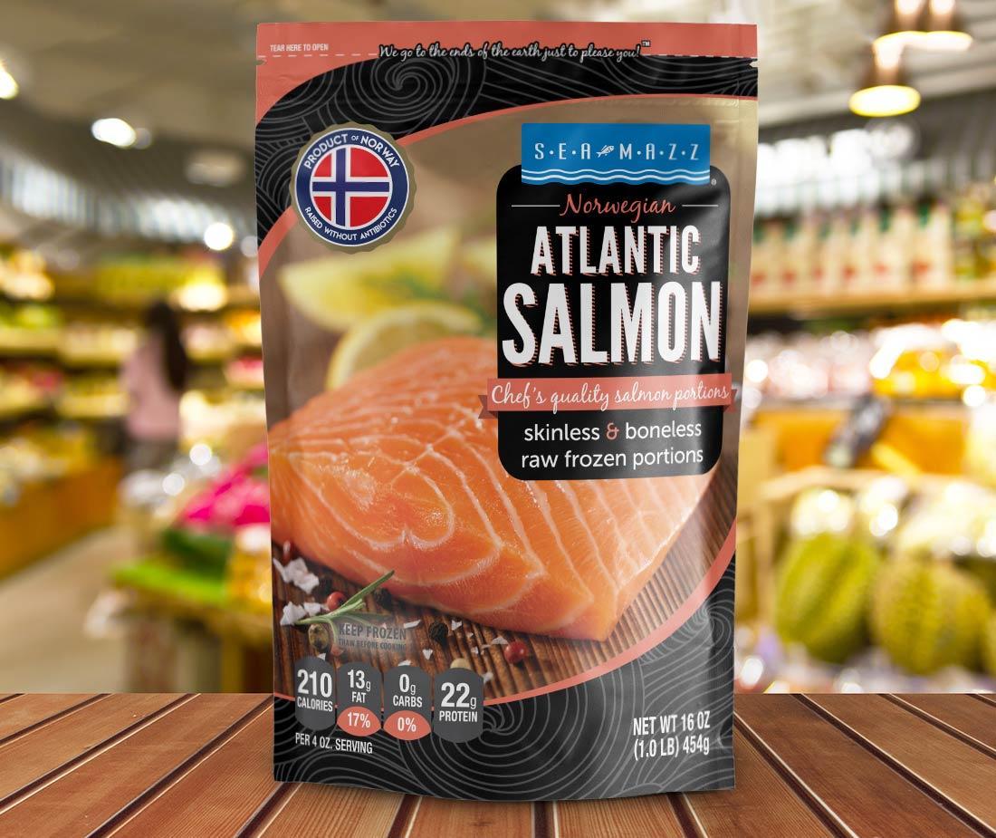 Atlantic Salmon, 16 oz  - Mazzetta Company, LLC